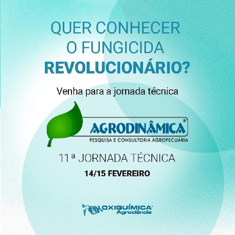 11º Jornada Técnica Agrodinâmica