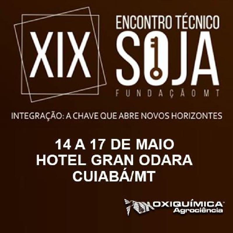 XIX Encontro Técnico de Soja